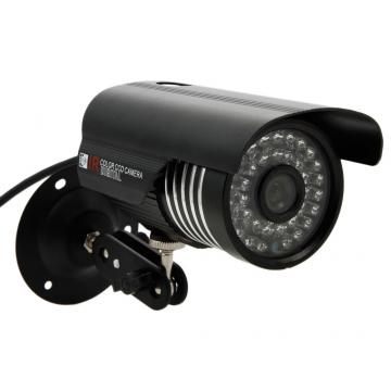 1000TVL HD Outdoor Waterproof IR-CUT Night Vision Home CCTV Security Camera PAL black one size
