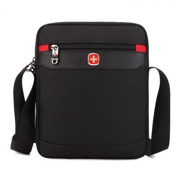 SwissGear Men's Handbag Briefcase Laptop Shoulder Bag Satchel Messenger Bag Tote black one size