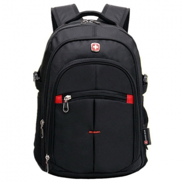 "Hot Waterproof Swissgear Travel Backpack Men Women 15.6"" Laptop Outdoor School Bag black one size"