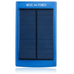 30000mAh USB External Battery Charger Solar Power Bank for Samsung iphone 6 5S 4 blue 30000