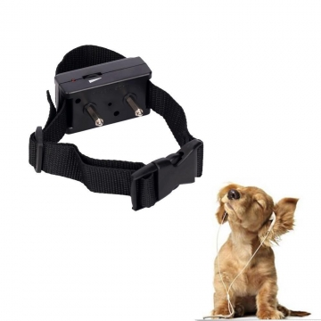 Barking Anti Bark Dog Pet Adjustable Training Shock Control Collar# P48 black one