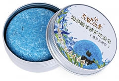 Handmade Hair Shampoo Soap Pure Natural Remove Oil Dandruff Prevent Hair Loss Shampoo Soap red one size