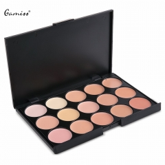 Hot 50pcs / Pack 15 Colors Professional Salon Palette Makeup Party Contour Palette Face Cream 01