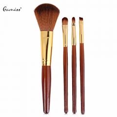 New 4pcs/set Makeup Brushes Set Pro Liquid Foundation Cosmetics Soft Hair Blending Brushes Set as the picture