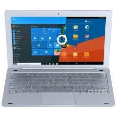 Teclast Tbook 16 Pro 2 in 1 Tablet PC Windows 10 + Android 5.1 11.6 inch  with Keyboard Silver White