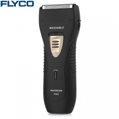FLYCO FS622 Foil Shaver Rechargeable Washable Electric Razor Black