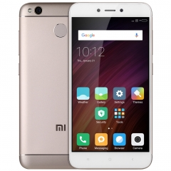 Xiaomi Redmi 4X 4G Smartphone 5.0 inch MIUI 8 Snapdragon 435 Octa Core 1.4GHz 13.0MP Rear Camera champage gold
