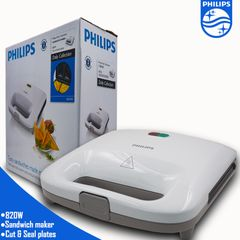 【Easter】 Philips HD2393 - Sandwich Maker - White As  pciture