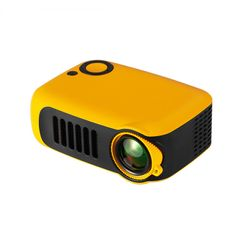 WECHO A2000 Mini Portable Intelligent Projector 1080P HD Mini Child Projection Yellow ONE SIZE