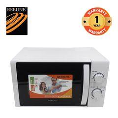 Rebune 20L/700W Microwave Oven  5 Power Levels (RE-10-14) White normal 700w
