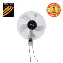 "Rebune  50W 16 "" 3 Speeds Wall Fan(RWF-16-002) White"