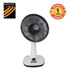Rebune 40W 12'' Stand Fan (RTF-12-001) White