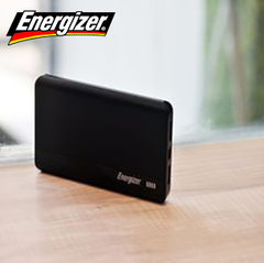 Energizer  UE10054  (10,000mAh) Power Bank Black 10000