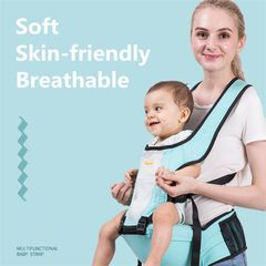 Baby Carrier Baby Seat Baby Chair Blue as picture