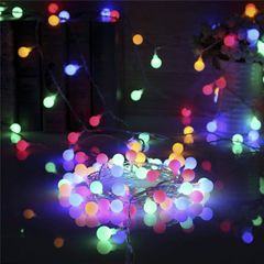 Decorating Birthday Celebrate Festival Light Holiday Light Color Light Ball Shaped As Picture 3 meters with 20 bulbs