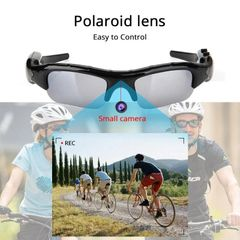 Digital Camera Sunglasses-Easy to Control-Smart Black as picture
