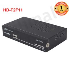 Sonar HD-T2F11 Terrestrial Receiver DVB-T2 Free to air Digital Full HD 1080P MPEG2 and MPEG4 H.264