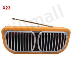 iSOLAR X23 solar radio with Bluetooth and flashlight Orange