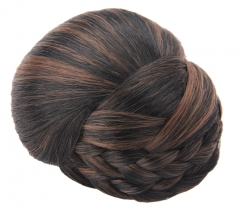 hair piece  2016 top quality KANIKALON   synthetic hair accessories  for women DOME123M