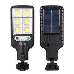 [VODA]LED Solar Light Outdoor Sunlight Wall Light Waterproof PIR Motion Sensor Street Light Type3 277*84*40mm 10W