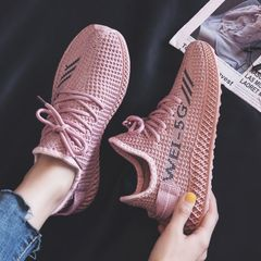 Women shoes coconut sneakers women running canvas shoes All-match sports shoes Casual trend shoes Pink 39