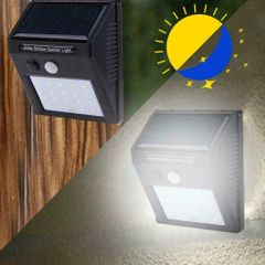 Solar light outdoor light garden light household human body induction waterproof wall light lamp 48CO one size