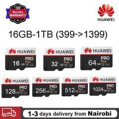 Huawei 256GB 512GB 1024GB 128GB 32GB 64GB Memory Micro SD Card XC C10 Flash Card Black HUASD 16 GB Micro SD
