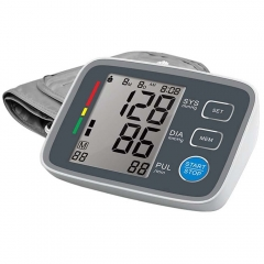 Auto Upper Arm Blood Pressure Monitor with Large Cuff LCD,WHO indicator Digital Smart blood machine
