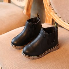 Children's fashion Martin boots-Black Boys and girls Shoes Boots Black 27