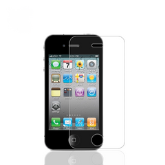 iphone4/4s/5/5s/se/6/6s Steel film anti-blue ray diamond protective film Gift lucency iphone4/4s White one size