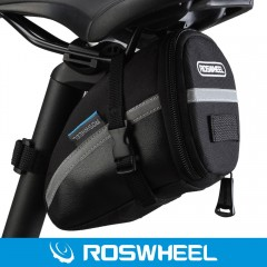Roswheel Outdoor Cycling Bike Saddle Bag Seat Tail BLACK