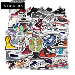 50PCS Sneakers Style Graffiti Stickers  Luggage Laptop Skateboard Car Novelty & Gag Toys 50Pcs 4-8cm