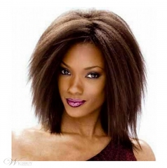 Straight Short Wigs For Black Women Women Sailor Moon Wig Heat Resistant Wigs Synthetic Hair sw8278 brown medium