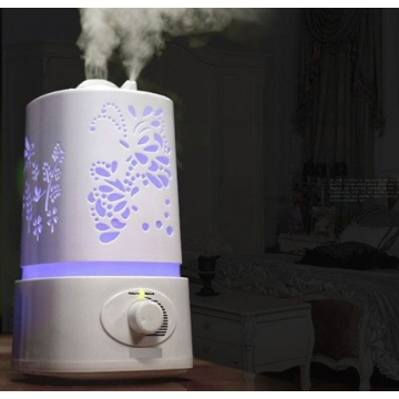5 in 1 Multifunctional Ultrasonic Humidifier Aroma Oil Diffuser Portable Air Humidifier Ioniser