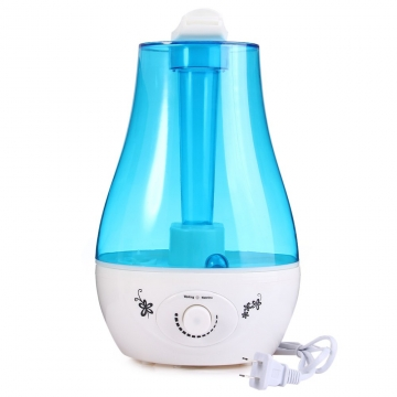 New Ultrasonic Humidifier 3L Mini Aroma Humidifier Air Purifier with LED Lamp Mist Maker Fogger