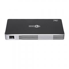 TOUMEI DLP C800i Projector Android 4.4 80 Lumens 1080P Dual Band WiFi Bluetooth 4.0_GRAY gray eu plug
