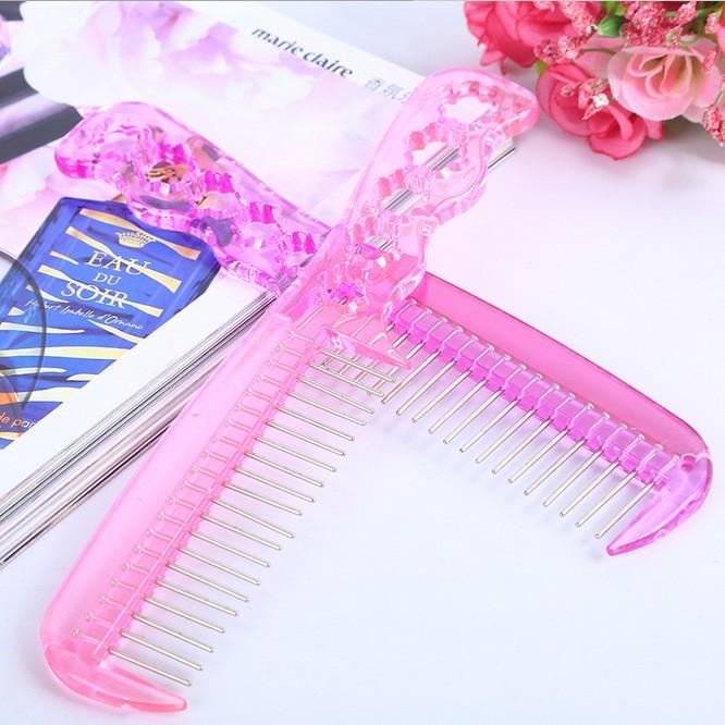 AGAPEON Steel Comb pink 17cm