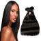 "8""-28"" 5A Remy Hair 100% Brazilian Virgin Human Hair Straight Hair Weave Extension 100g/pcs 1 Bundle Natural Color 8 inch"