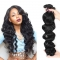 10'-28' 5A Remy Hair 100% Brazilian Virgin Human Hair Loose Wave Hair Weave 100g/pcs 1 Bundle natural color 10 inch