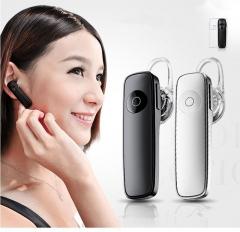 Wireless Stereo Mini Bluetooth In-ear Earphone Business Headphone Portable Sport Headphon white
