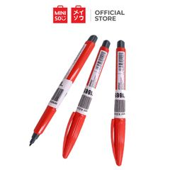 Miniso Pluspens Water-based Fibre-tip Pen-1pcs Red