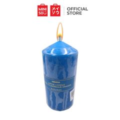 Miniso Candles with Large Size Blue Large one size