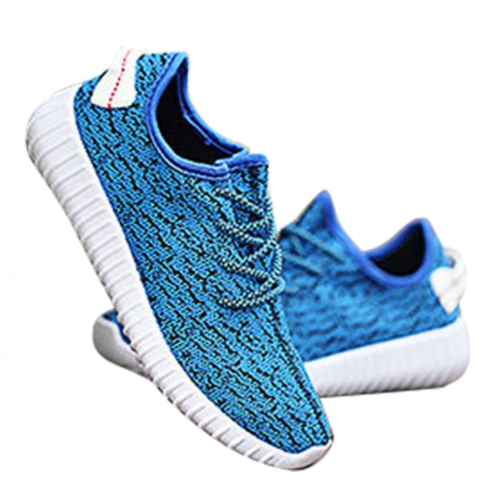 c902031f03 SWISSANT® Yeezy Boost 350 Sneakers Sports Leisure Fitness Running Trainers  Mens Womens Unisex Light Blue
