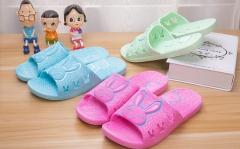 The Summer Girls Rabbit Slippers Couple Slippers SWISSANT® purple us8