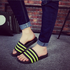 The Boys Style Couple Striped Slippers SWISSANT® yellow us9.5
