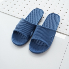 Women/Men Candy Color Indoor Summer Bathroom Slippers Non-slip Cute Casual Slippers SWISSANT® dark blue UK6.5