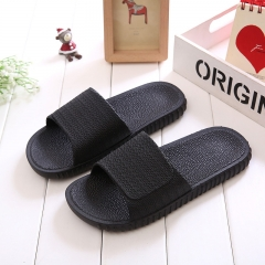 Slippers Men/Women Beach Slippers House Slippers Summer Sandals Home Indoor Slippers SWISSANT® black UK8.0