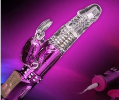 Pronged Clit Stimulator Clitoral Vibrator Sex Toy for Women,Dildo Rabbit Massager vibrator SWISSANT® purple one size