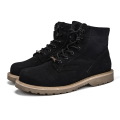 Man and women work boot timberland boots black
