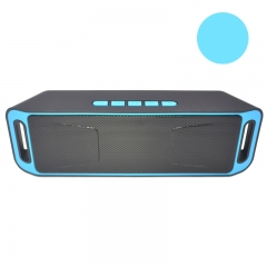 Multi-function Wireless Bluetooth Sound Speaker Portable Speaker blue one size